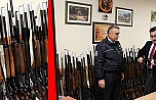Kaçak avcıların silah, otomobil ve teknesi satılacak