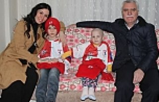 KARAASLAN'DAN SAMSUNSPOR AŞIĞI YAĞMUR'U ZİYARET