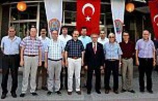 Kaymakam Arslan'dan Belediye'ye Veda Ziyareti