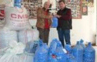 KIZILIRMAK DERSHANESİ PERSONELİ, 300 KİLO MAVİ...