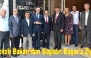 Kosovalı Bakan'dan Başkan Başar'a Ziyaret