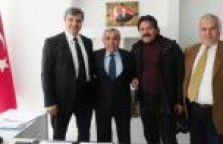 KURUMAHMUTOĞLU 'DAN BAFRA KAYMAKAMI HALİS ARSLAN'A...