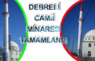 Lengerli Köyü, Debreli Camii Minaresi Tamamlandı