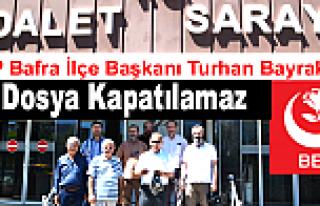 Muhsin Yazıcıoğlu dosyasının takipsizlik kararı
