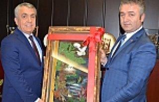 Osman Topaloğlu'ndan Rektör Bilgiç'e Ziyaret