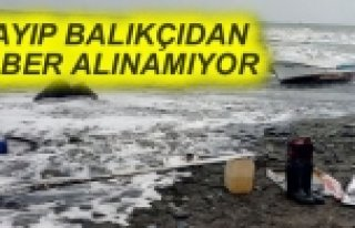 Samsun'da, Denize Açılan Balıkçıdan Haber Alınamıyor