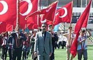 Samsun'un Bafra ilçesinde 19 Mayıs Atatürk'ü Anma,...