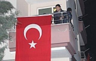 Şehit Piyade Uzman Onbaşı Taşkın'ın Samsun'daki...