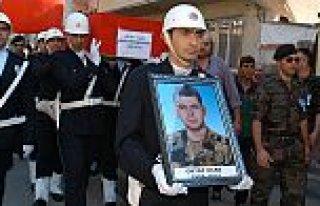 Şehit Polis Bafra'da Toprağa Verildi