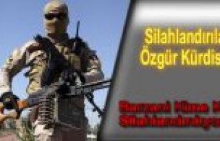 Silahlandırılan Özgür Kürdistan