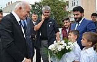 Vali Şahin, Kur'an kursunu ziyaret etti