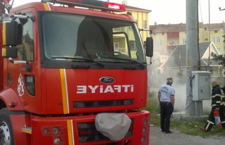 Kapalı Spor Salonu Trafosunda Yangın