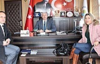 Yeni Atanan Kredi Yurtlar Müdüründen Başkan Hadi...