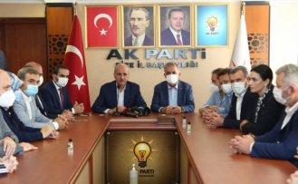 AK Parti Genel Başkanvekili Numan Kurtulmuş başkanlığında heyet Rize'de