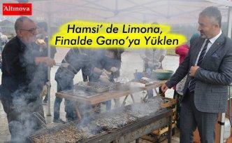 Hamsi' de Limona, Finalde Gano'ya Yüklen