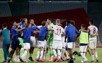 Ziraat Türkiye Kupası finalinde Aytemiz Alanyaspor'u yenen Trabzonspor, kupasını aldı
