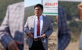 Samsun'da hükümlüler 465 bin metrekarelik alana fidan dikti