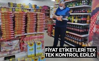 FİYAT ETİKETLERİ TEK TEK KONTROL EDİLDİ