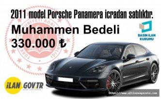 2011 model Porsche Panamera icradan satılıktır.