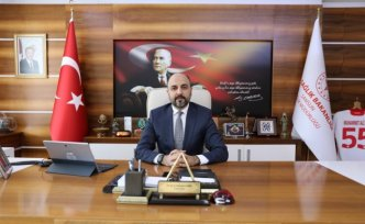 """Samsun Sağlık Müdürü Oruç, gençlere """"Kovid-19 aşısı olun"""" çağrısı yaptı:"""