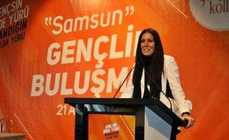 AK Parti Genel Başkan Yardımcısı Karaaslan, Samsun Gençlik Buluşması'nda konuştu: