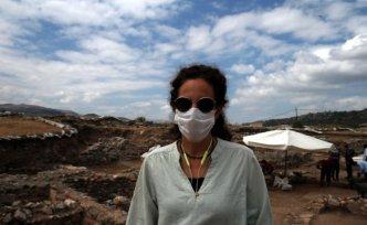 Antik kent kazısında çalışan işçilere Kovid-19 aşısı yapıldı