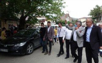 İYİ Parti TBMM Grup Başkanı İsmail Tatlıoğlu, Artvin'de ziyaretlerde bulundu:
