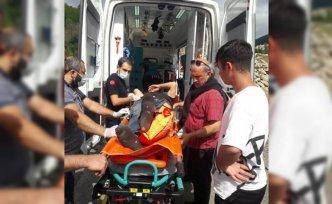 Ordu'da barajda balık tutmaya çalışırken kayalıklardan düşen kişi kurtarıldı