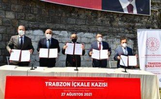 Trabzon'daki Zağnos Vadisi'nde arkeolojik kazı yapılabilmesi için iş birliği protokolü imzalandı