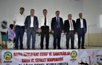 ESNAFLAR BAŞKAN AHMET YILMAZ'LA DEVAM DEDİ