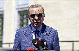 Cumhurbaşkanı Erdoğan, afetzedelerle telefonda görüştü