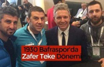 1930 Bafraspor'da Zafer Teke Dönemi