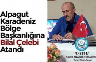 Alpagut Karadeniz Bölge Başkanlığına Bilal Çelebi Atandı