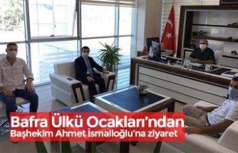 Bafra Ülkü Ocakları'ndan Başhekim Ahmet İsmailoğlu'na ziyaret