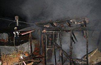 Bozkurt'ta ev yangını
