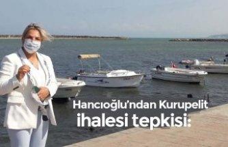 Hancıoğlu'ndan Kurupelit ihalesi tepkisi:
