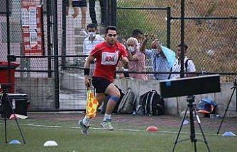 Karabük'te hakemler FIFA Atletik Testi'ne tabi tutuldu