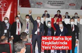 MHP Bafra İlçe Teşkilatı'nda Yeni Yönetim