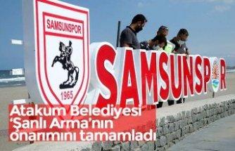 Atakum Belediyesi 'Şanlı Arma'nın onarımını tamamladı