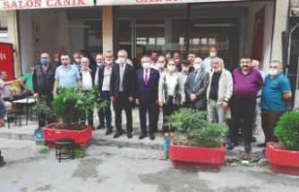 CHP MİLLETVEKİLLERİ KOBİ ZİYARETLERİNDE
