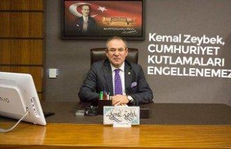 Kemal Zeybek, CUMHURİYET KUTLAMALARI ENGELLENEMEZ