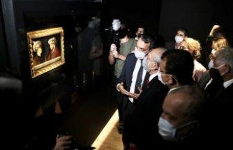 Kılıçdaroğlu, Fatih'in portresinin ön gösterimine katıldı