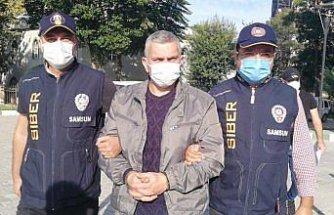 Samsun'da 48 yıl 5 ay hapis cezası bulunan firari hükümlü yakalandı