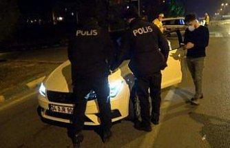 Karabük'te sokağa çıkma kısıtlamasına uymayan kişiye ceza