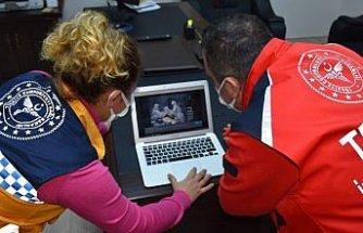 Trabzon'da sağlıkçılar AA'nın