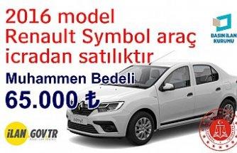 2016 model Renault Symbol icradan satılık