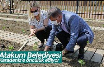 Atakum Belediyesi Karadeniz'e öncülük ediyor