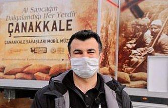 Çanakkale Zaferi'ni mobil müzeyle 53 kentte 70 bin kişiye anlattılar