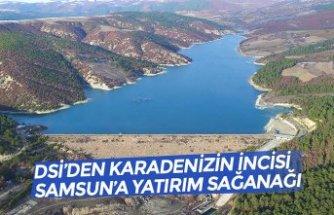 DSİ'DEN KARADENİZİN İNCİSİ SAMSUN'A YATIRIM SAĞANAĞI