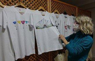 Kadın girişimcinin açtığı sanat atölyesi Şavşatlı kadınlara gelir kapısı oldu